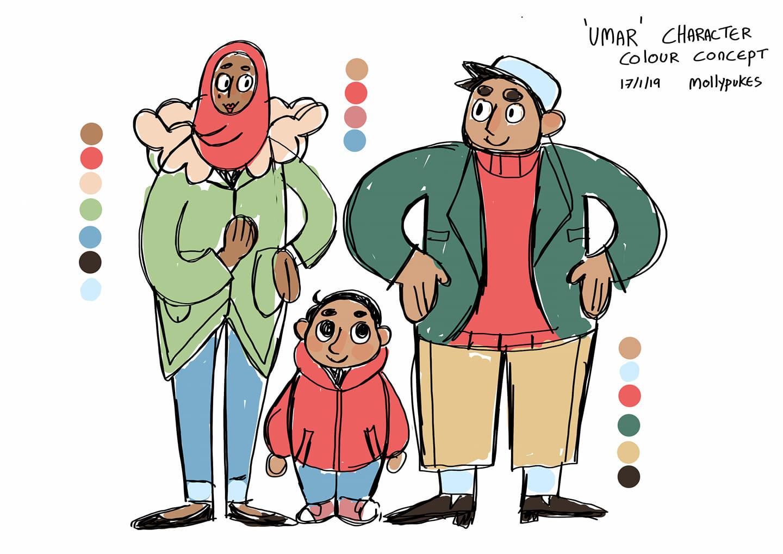 umar colour concept